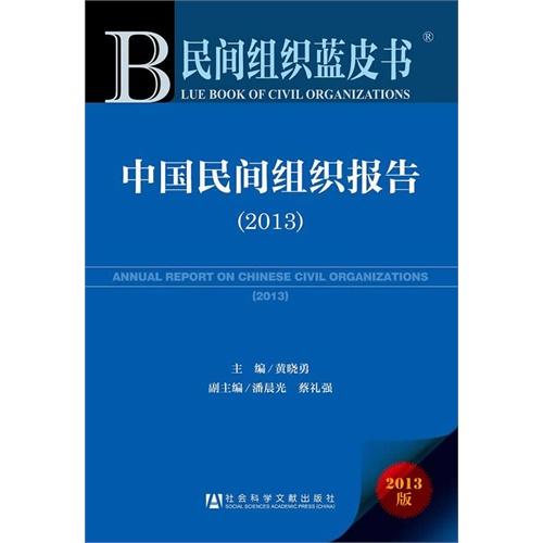 民间组织蓝皮书:中国民间组织报告