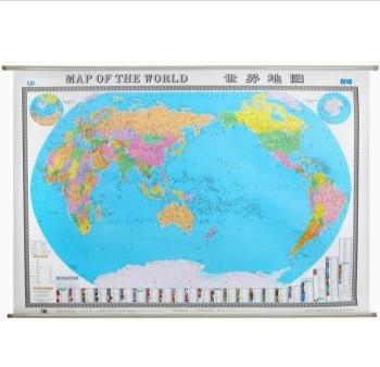 新编世界地图(中英双全)(膜图)(无拼缝)(装箱)