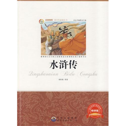 �少年必读丛书:水浒传(畅销版)